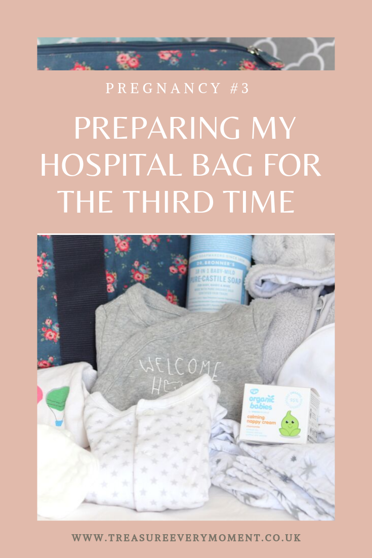 PREGNANCY #3: Preparing my Hospital Bag for the Third Time