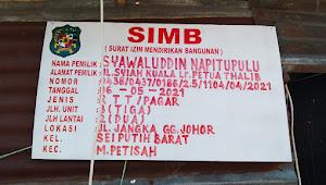 """Bangunan di Jalan """"Jangka"""" Kangkangi Perda Kota Medan"""