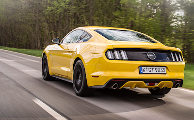 Ford Mustang GT rear look Hd image