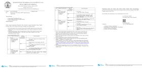Surat Edaran Jadwal KSN SD SMP Tingkat Nasional 2020 PDF