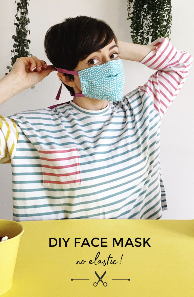 DIY Face Mask Tutorial - with video! - Tilly and the Buttons
