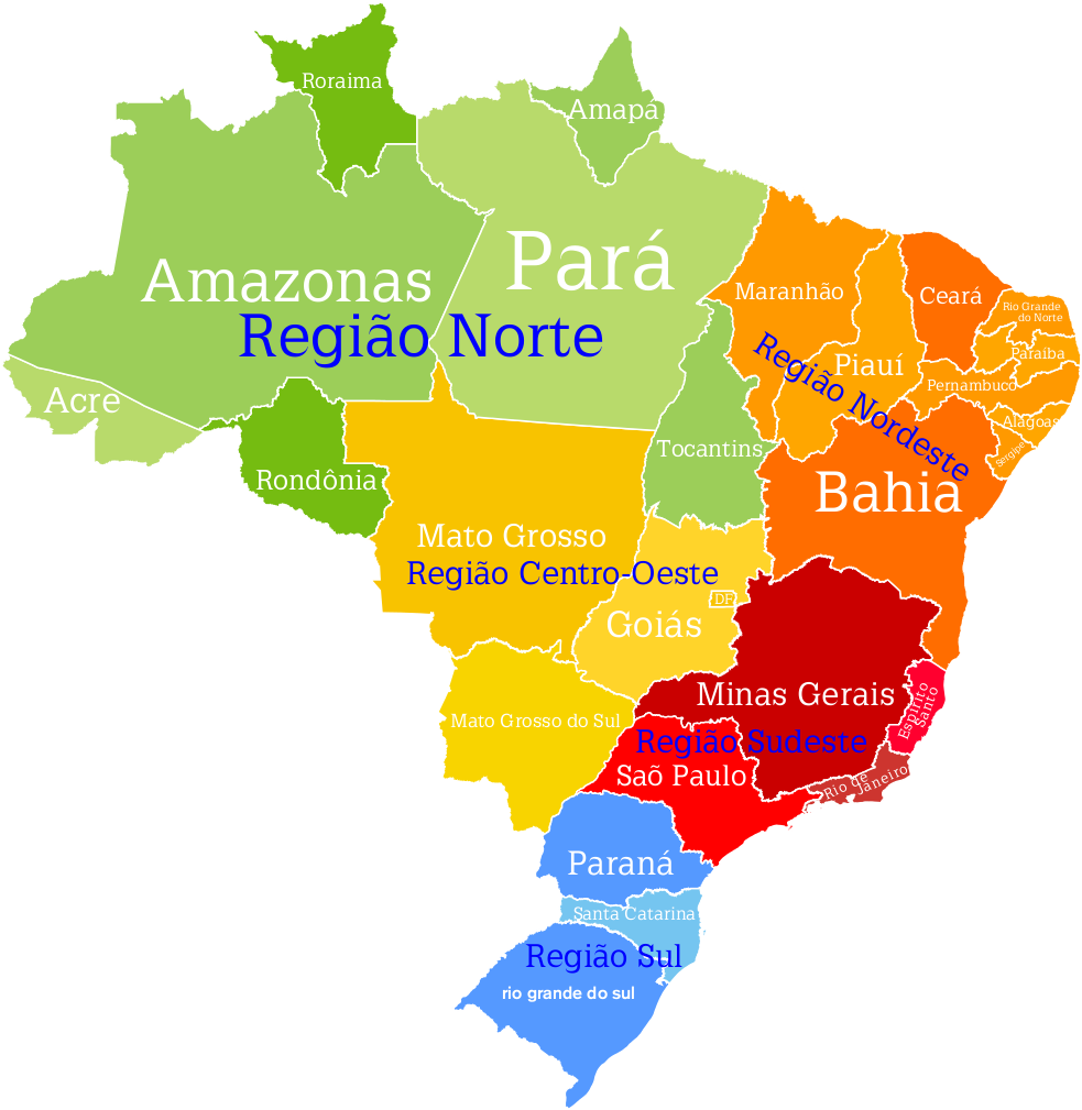 Regiões Geográficas do Brasil