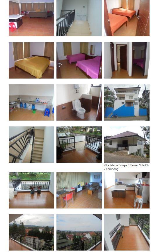 Villa Gh 7 Istana Bunga Lembang - Villa 5 Kamar