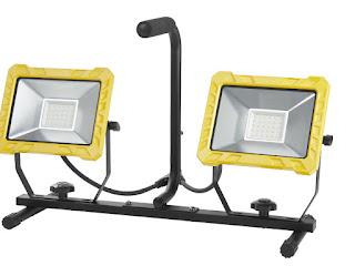 Lampa robocza LED 2 x 30 W Powerfix z Lidla