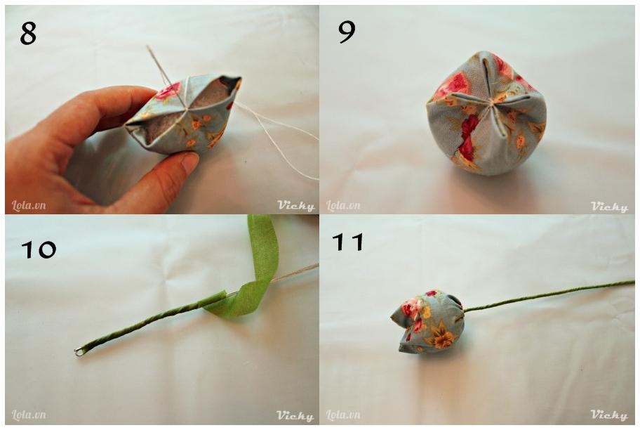 Tutorial Bunga Tulip Dari Kain Perca Desniutami