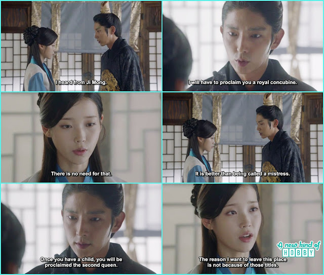 wang so told hae so take any name you want you are my women i don't like anyone calling you mistress - Moon Lovers Scarlet Heart Ryeo - Episode 19