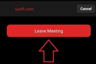 Cara Menggunakan Zoom Meeting di HP