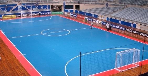 ukuran lapangan futsal indoor terbaik