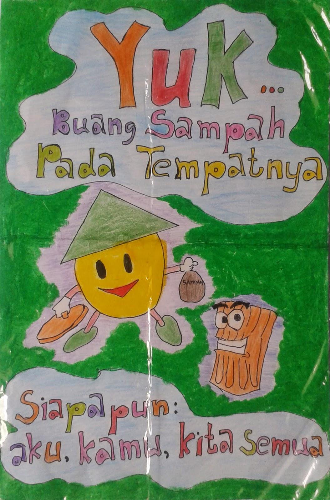 Poster Buang Sampah