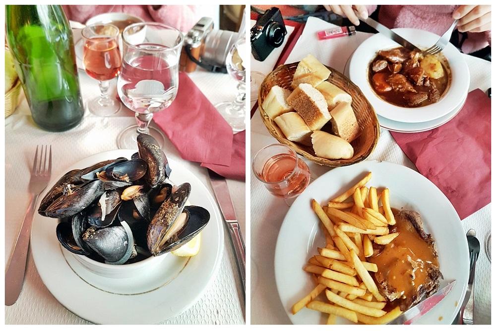 Lunch at Rue Saint-Severin Paris