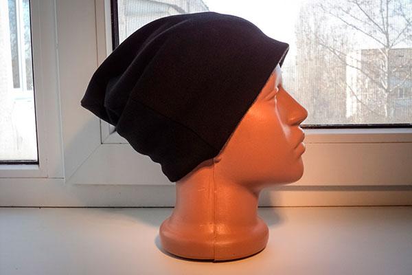 Шьем двухстороннюю шапку-бини за 15 минут