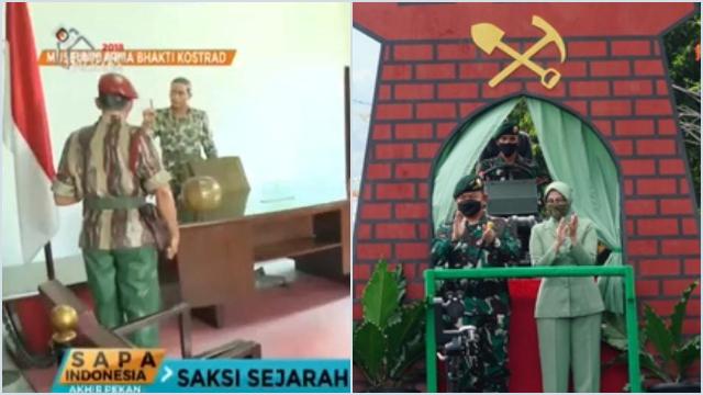 Kostrad Jawab Gatot soal Raibnya Patung Soeharto, Ada yang Minta ke Dudung