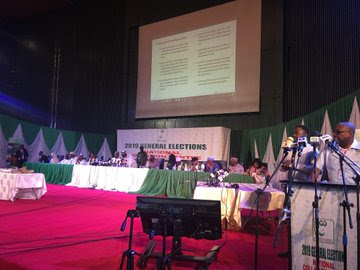 LIVE UPDATES: INEC Begins Official Declaration Of Presidential Election Results