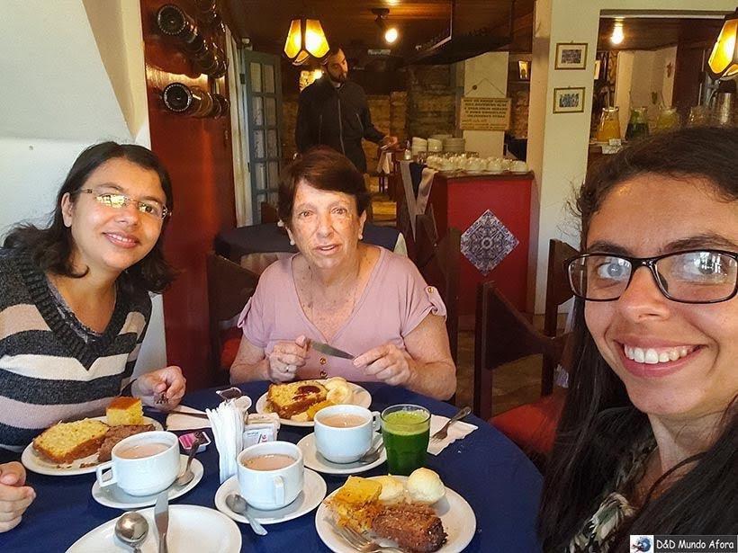 Café da manhã na pousada Arcadia Mineira