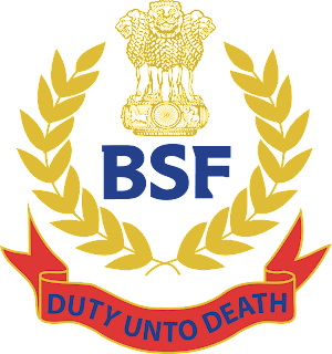 bsf-logo Online Application Form Cisf on nisa hyderbad logo, inspector general, how train people, vision mission, airport security women, airport dogs, fire inspector, soldier's flag, narendra mahelwad, airport security, indian flag, nfc hydera, delhi metro, total logos,
