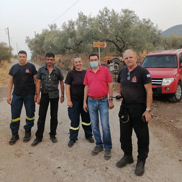 Το «ευχαριστώ» του Δημάρχου Λοκρών για την κατάσβεση των πυρκαγιών στην περιοχή της Αταλάντης