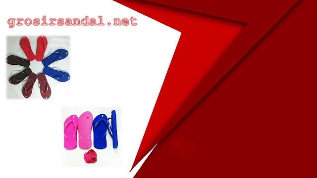 SANDAL WANITA DEWASA |SANDAL POLOS | SANDAL WARNA