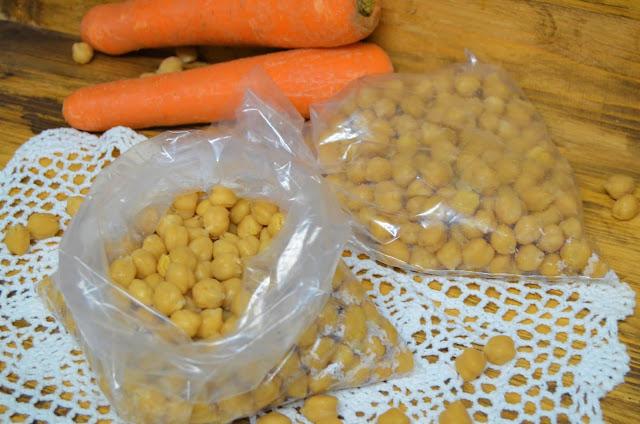 Las delicias de Mayte, recetas saludables, recetas de comida, como congelar garbanzos cocidos, como congelar garbanzos ya cocidos, congelar garbanzos cocidos con agua o sin agua, como congelar los garbanzos cocidos,