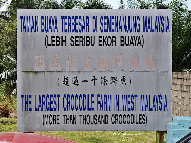 Biggest Crocodile Farm Malaysia