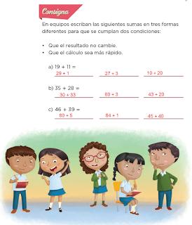 Respuestas Apoyo Primaria Desafíos Matemáticos 2do Grado Bloque 2 Lección 21 De muchas formas