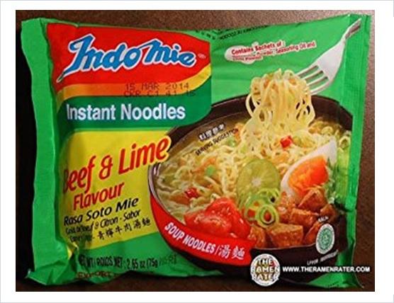 Indomie Beef Lime Flavour RASA SOTO MIE Instant Noodles