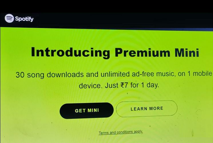 Spotify Premium Mini launched in India