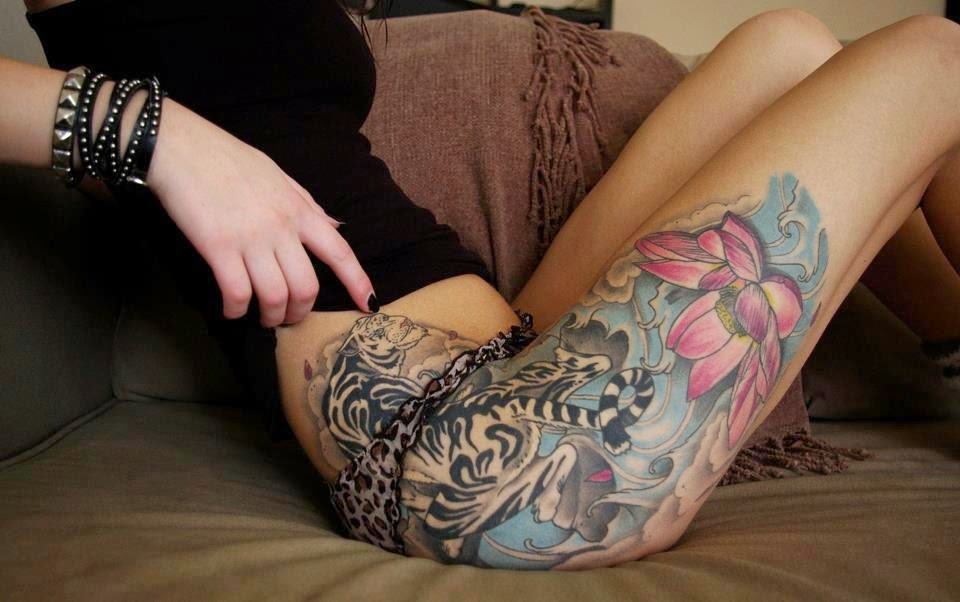 How To Take Care Of Tattoo On Thigh