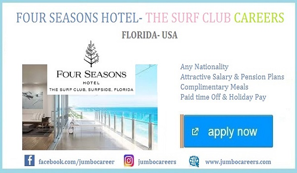 Miami Beach Area Luxury Hotel Careers