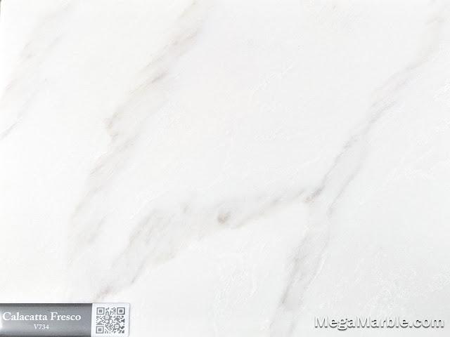 Quartz Stone Color calacatta fresco v734