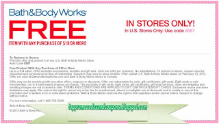 Free Printable Bath And Body Works Coupons