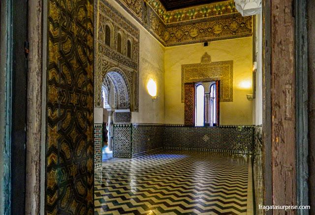 Sala do Palácio Mudéjar do Real Alcázar de Sevilha, Andaluzia