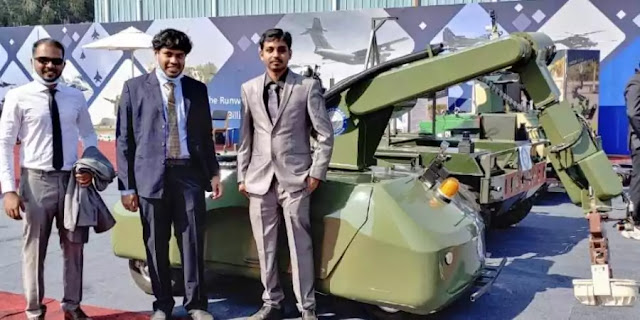 Chennai-based start-up to help develop AI-based unmanned ground vehicles for Army