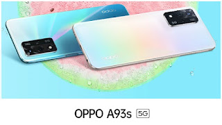 Oppo A93s 5G launched in India : 48 MP triple camera and 5000mAh battery