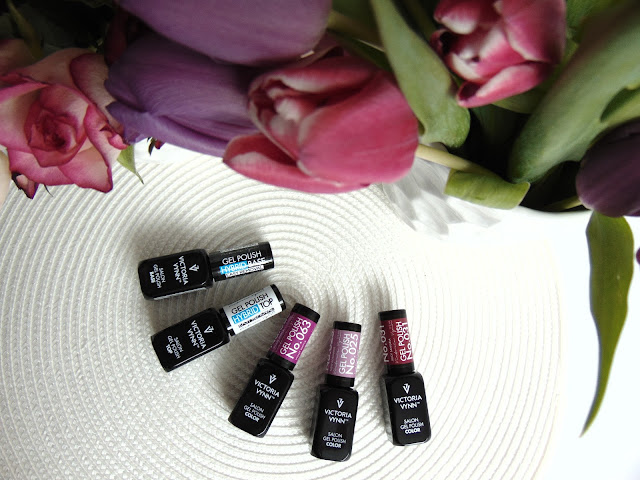 Paznokcie hybrydowe - Piękne kolory od Victoria Vynn