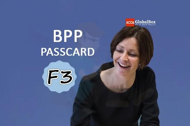 F3 - FA | BPP Passcard