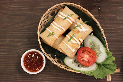 Spring Roll Ala sosmed Cafe