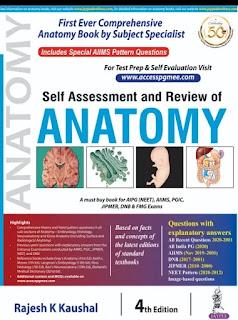 Best Anatomy MCQ Book