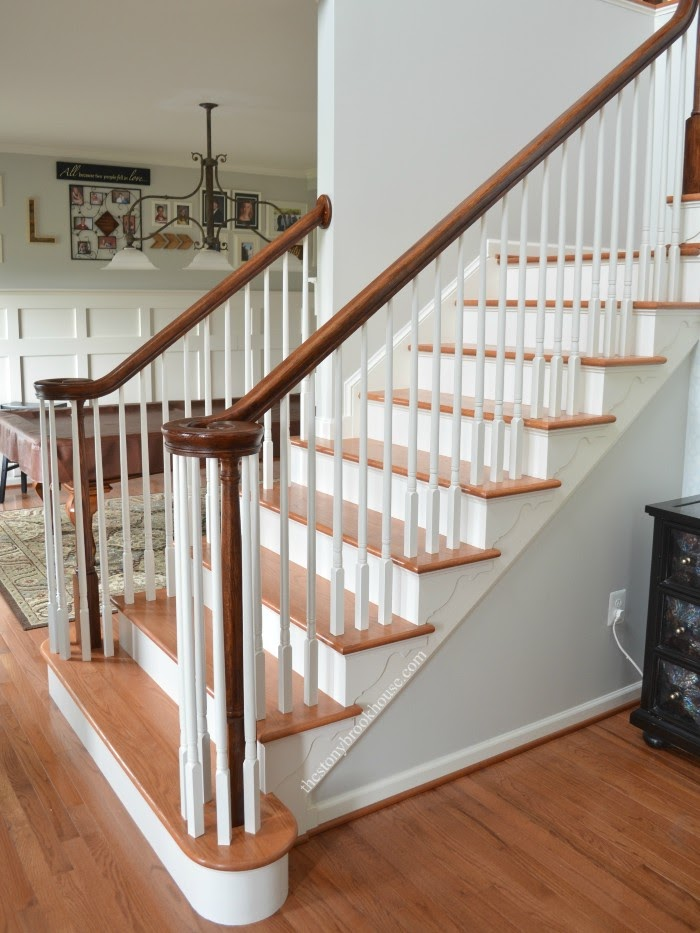 Staircase finished lower view