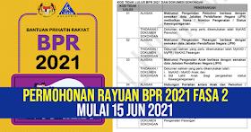 Permohonan BPR 2021 Gagal? Permohonan Rayuan Kini Telah Dibuka