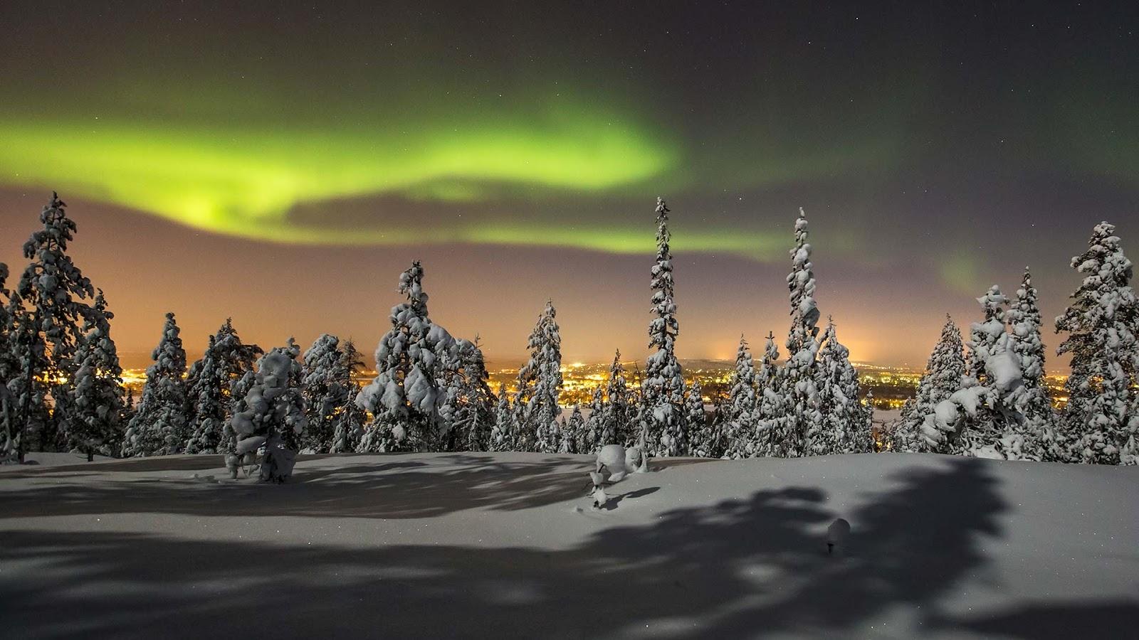 Lapland, Finland HD Background