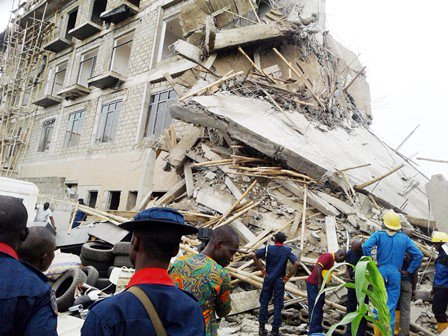 hotel building collapsed ilorin kwara state