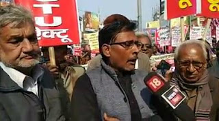 protest-against-mob-lynching-dhirendra-jha