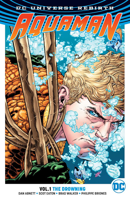 aquaman rebirth the drowning