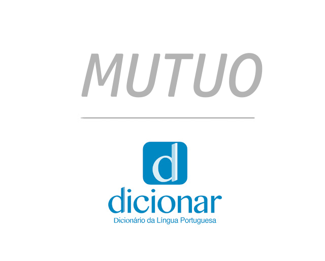Significado de Mutuo