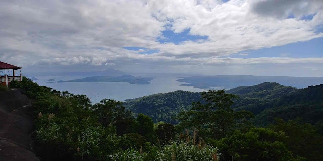 View of Taal Lake from RSM Lutong Bahay