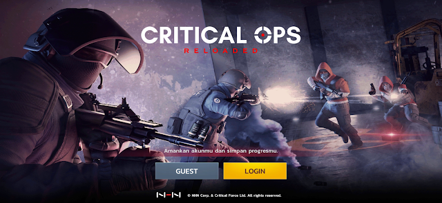 Game FPS Android 2020 Critical Ops : Reloaded Gak Pay To Win