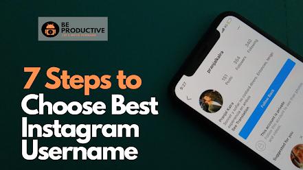 choose the best Instagram name