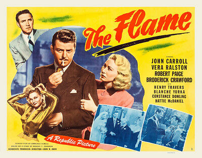 Watch The Flame (1947) Free Streaming Crime Movie