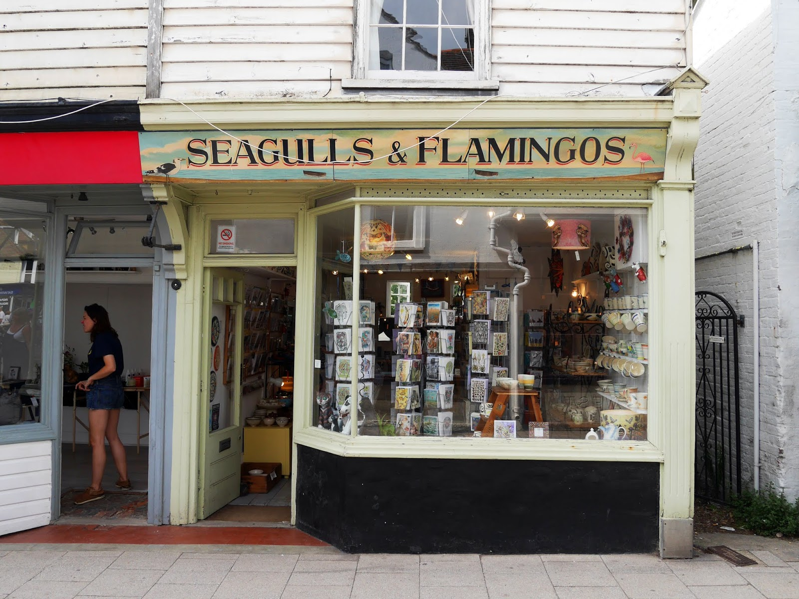 Seagulls & Flamingos shop, Whitstable