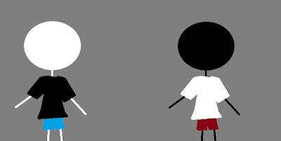 Si Hitam dan Si Putih ~Bagian 3~